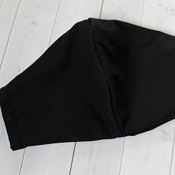 Adult XL - Black - Face Covering