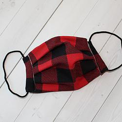 Child Sport - Buffalo Plaid - Face Covering