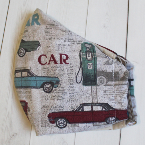 Adult - Cars - Face Covering