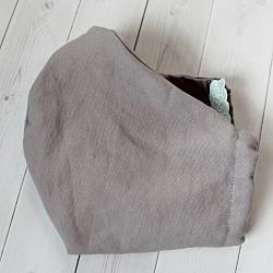 Adult - Light Gray - Face Covering
