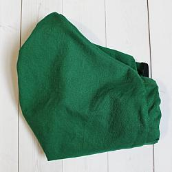 Adult XL - Green - Face Covering