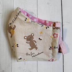 Toddler - Honey Bear - Face Covering