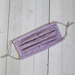 Large Sport - Embossed Lilac - Face Covering