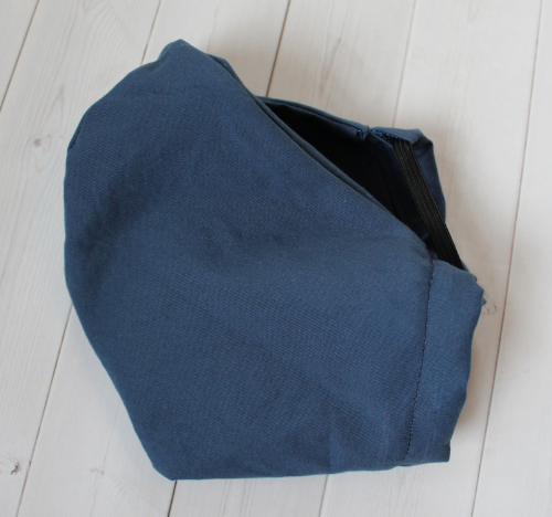 Adult PETITE - Navy Blue - Face Covering