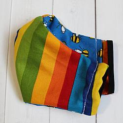 Toddler - Rainbow Bee - Face Covering