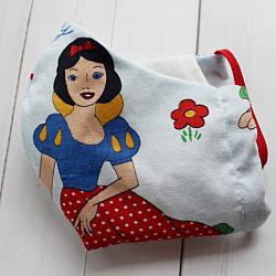 Child - Snow White - Face Covering