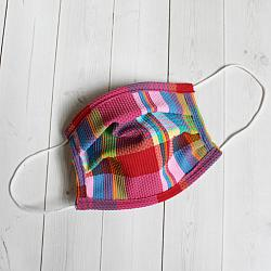 Child Sport - Happy Plaid - Face Covering