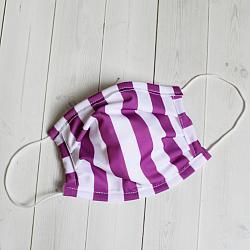 Child Sport - Purple Stripe - Face Covering