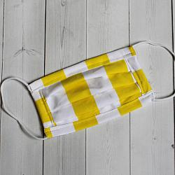 Child Sport - Yellow Stripe - Face Covering